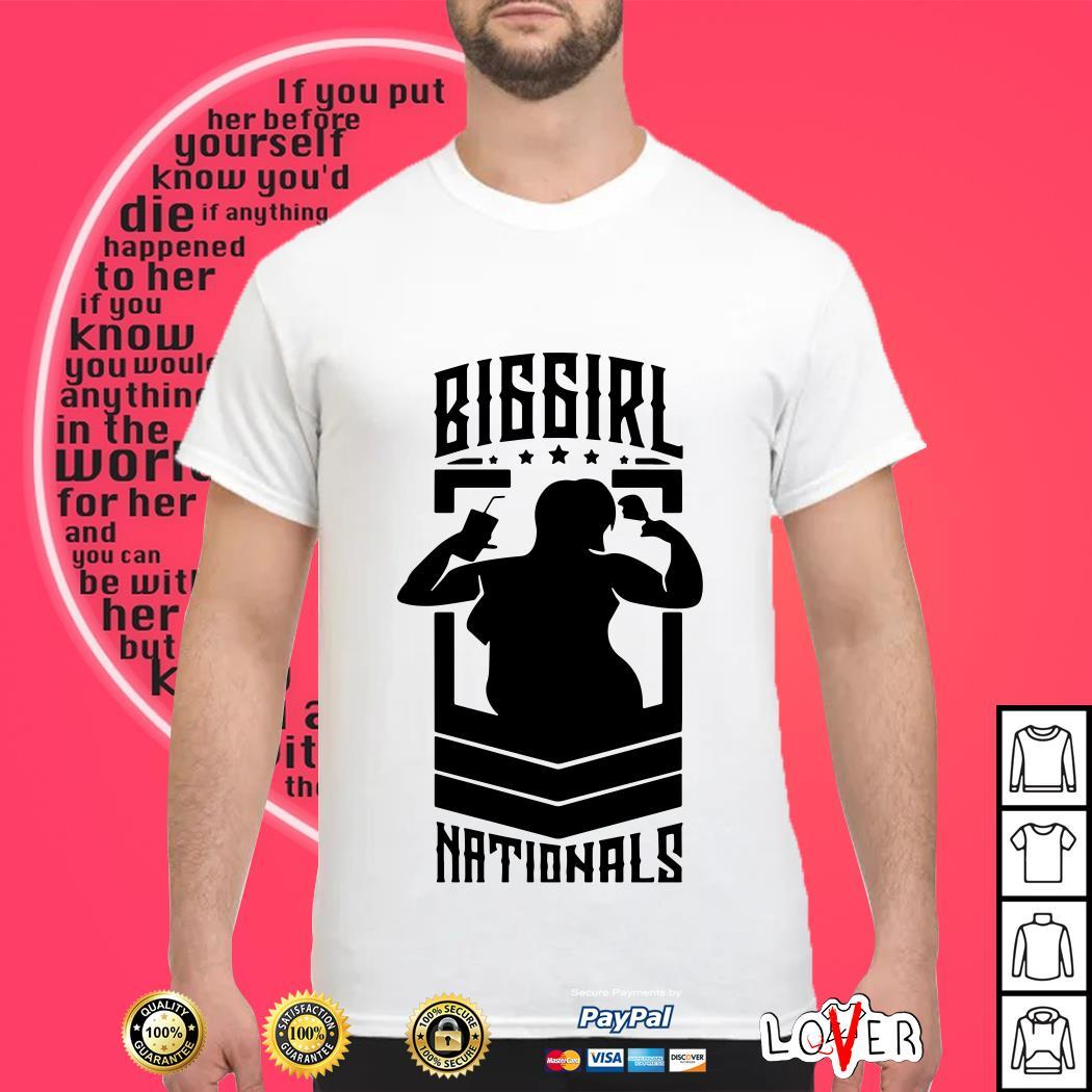 Annual big girl national shirt