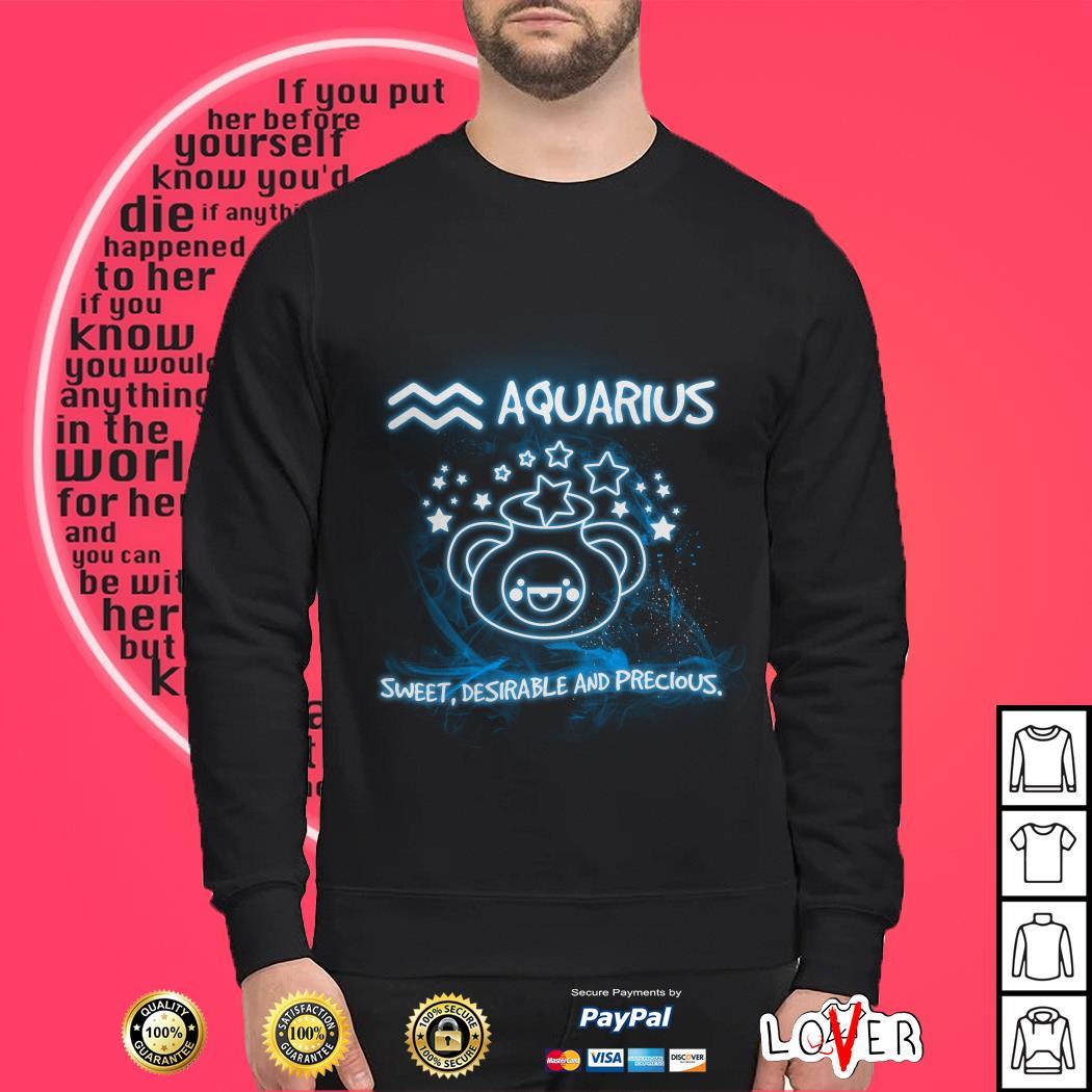 Aquarius sweet desirable and precious Sweater