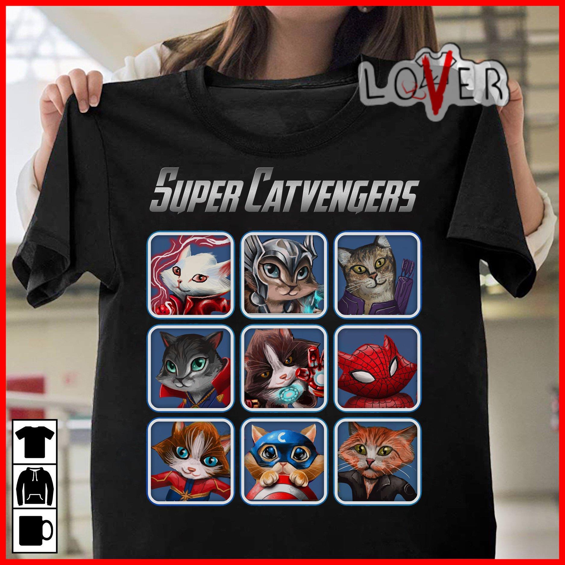 Avengers Super Catvengers shirt