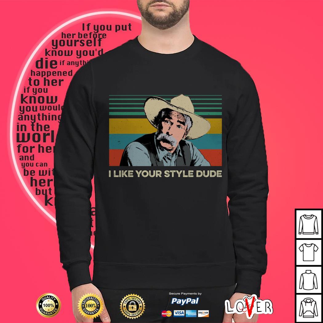 The Big Lebowski The Stranger I like your style dude vintage Sweater
