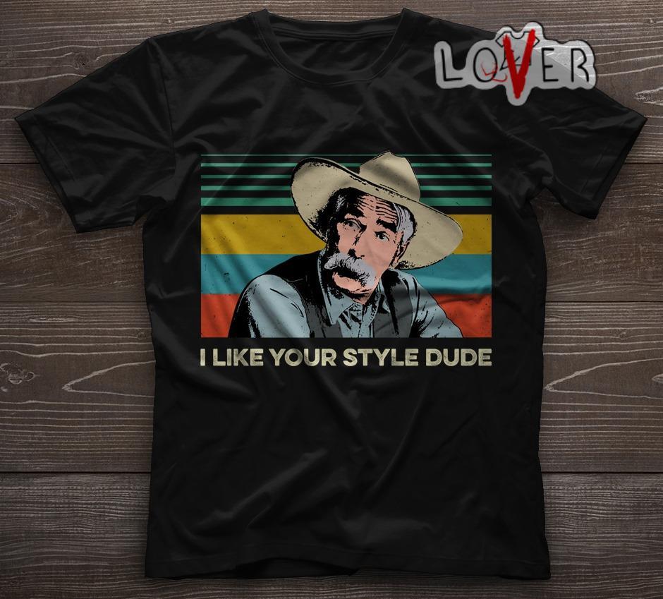The Big Lebowski The Stranger I like your style dude vintage shirt