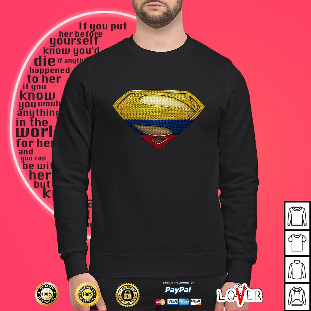 Colombia Superman Sweater