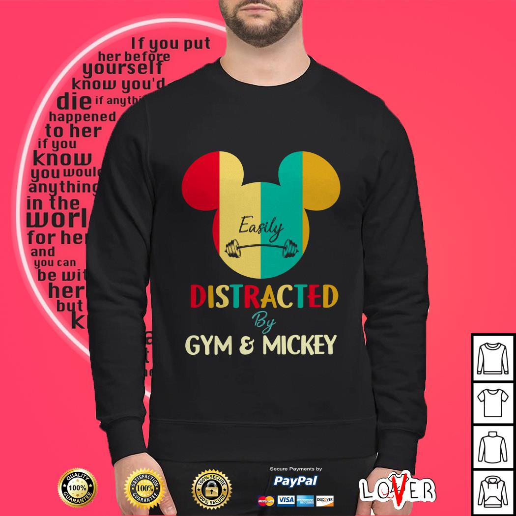 Disney easily disgraced by gym and Mickey Sweater