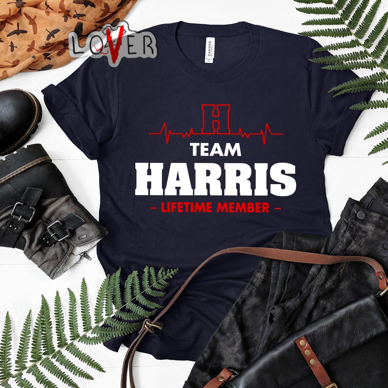 Heartbeat H team Harris lifetime member shirt