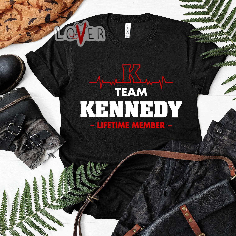 Heartbeat K team Kennedy lifetime member shirt