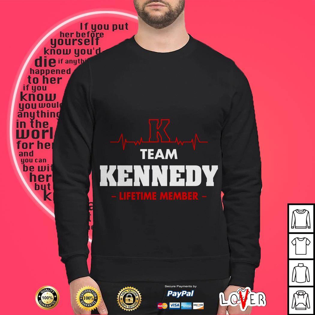Heartbeat K team Kennedy lifetime member Sweater