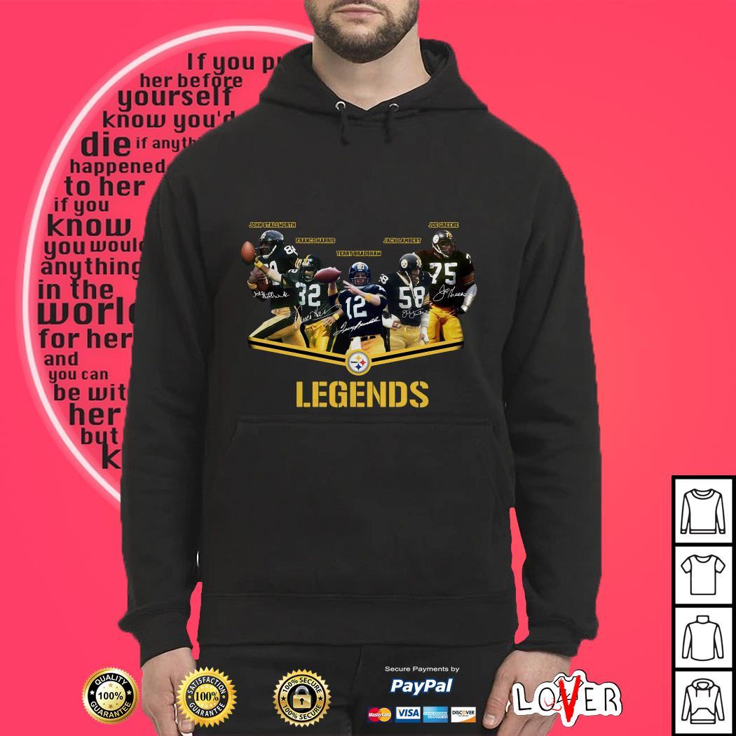 Legends Pittsburgh Steelers Logo Hoodie