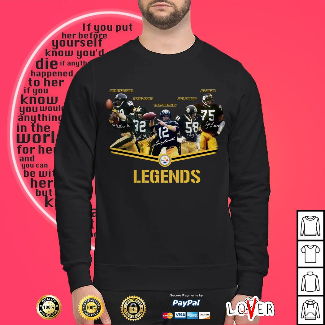 Legends Pittsburgh Steelers Logo Sweater