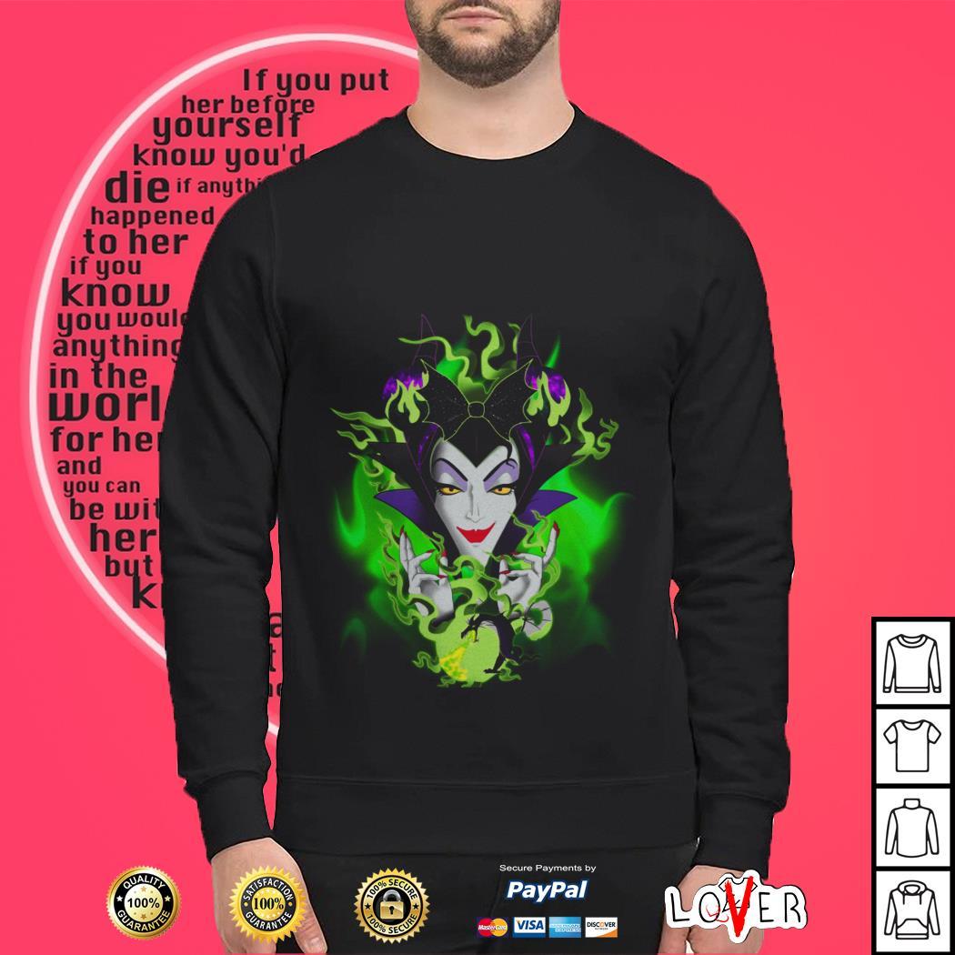 Maleficent Dragon Black Sweater