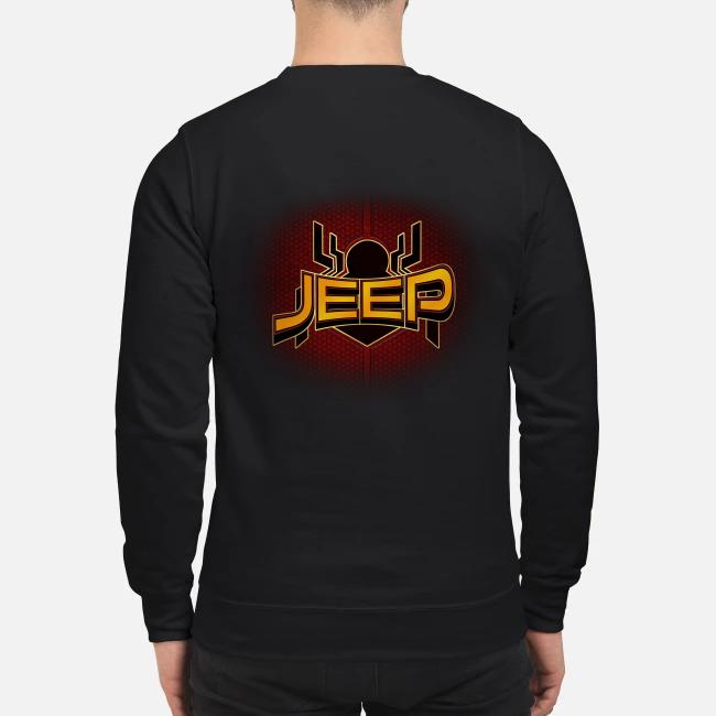 Official Spider Man far from home Jeep Sweater