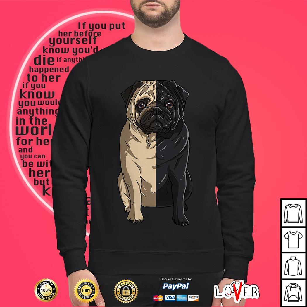 Pug light Pug dark Sweater