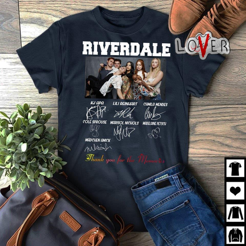Riverdale thank you for the memories signature shirt
