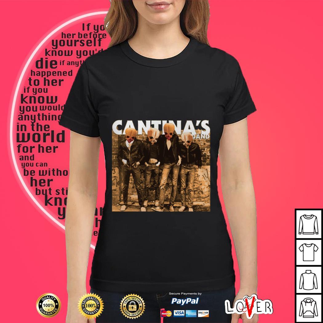 Star Wars Ramones Cantina's dand Ladies tee