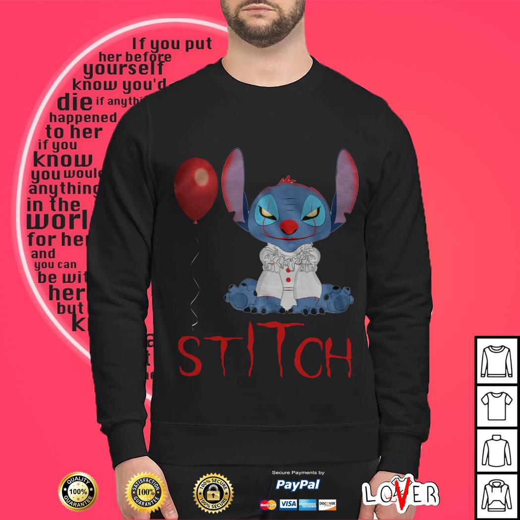 IT Stitch and Pennywise Sweater