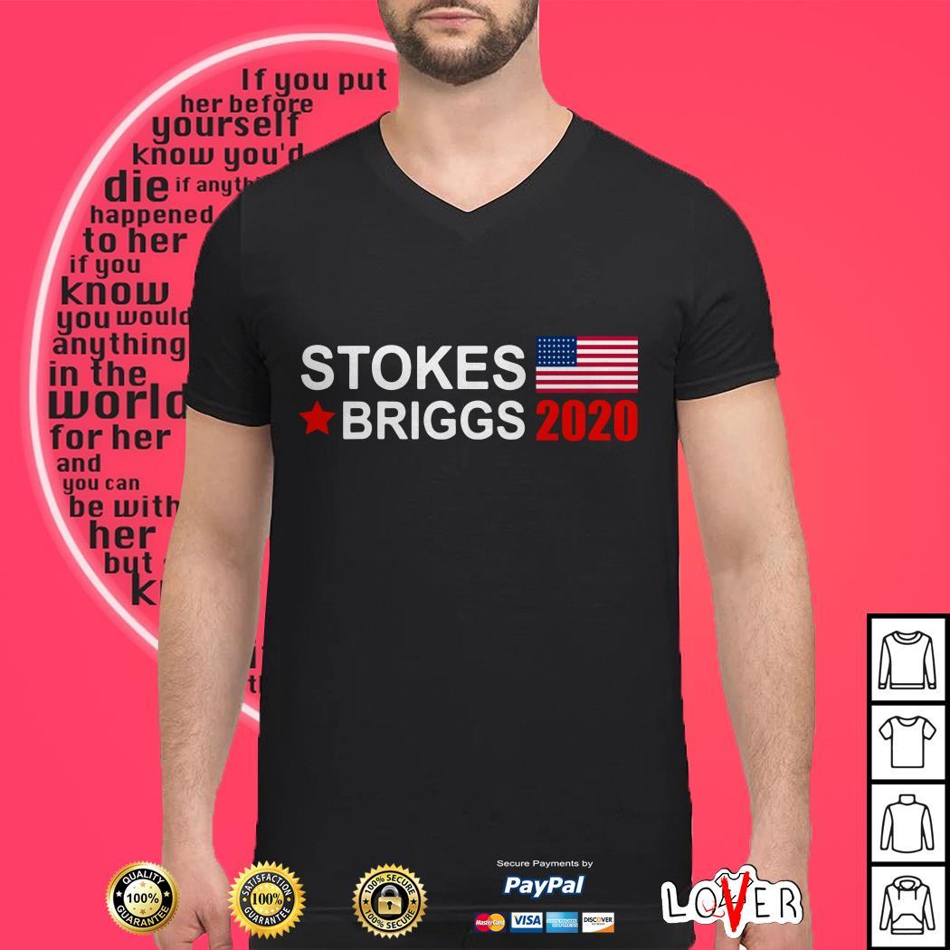 Stokes Briggs 2020 America Flag shirt