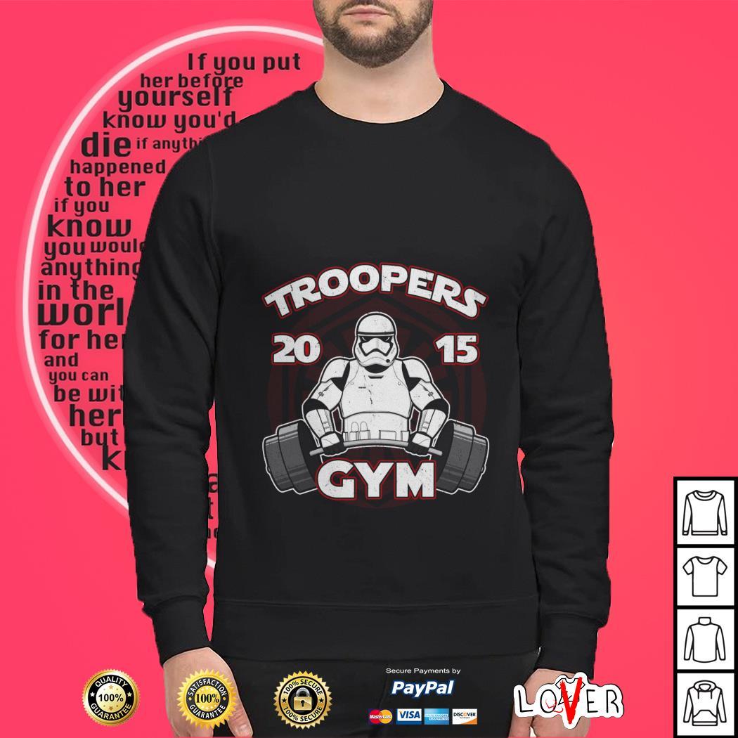 Stormtrooper troopers 2015 GYM Star Wars Sweater