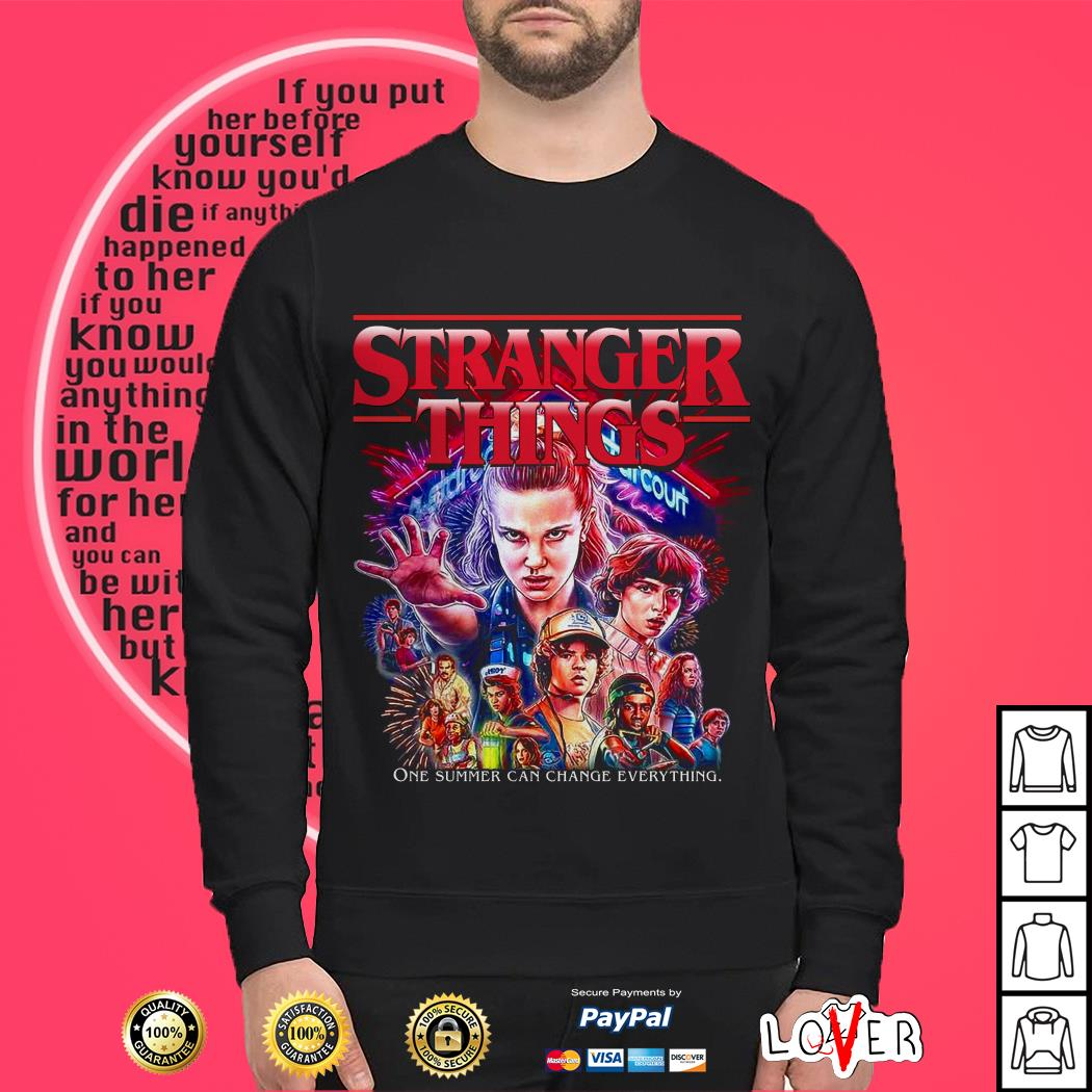 Stranger Things one summer can change everything Sweater
