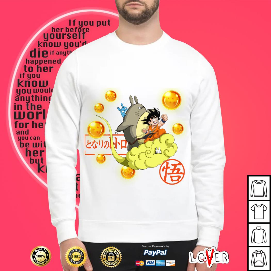 Totoro and Son Goku Awesome Friend Sweater