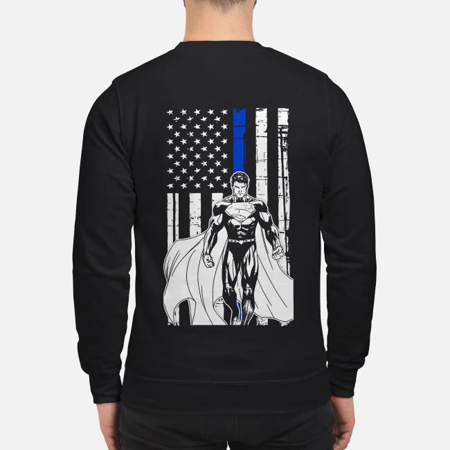 Veteran American Flag and Superman Sweater