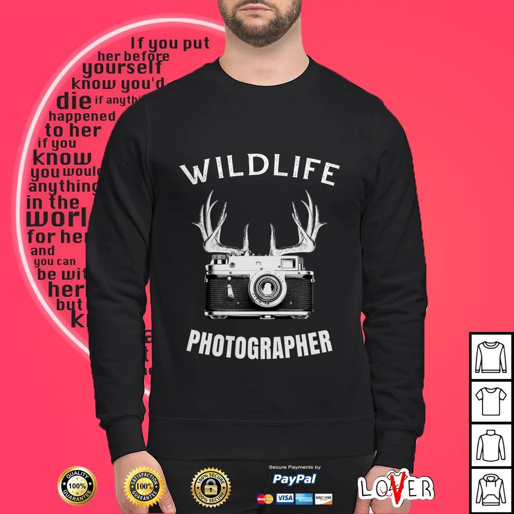 Wildlife photographer Sweater