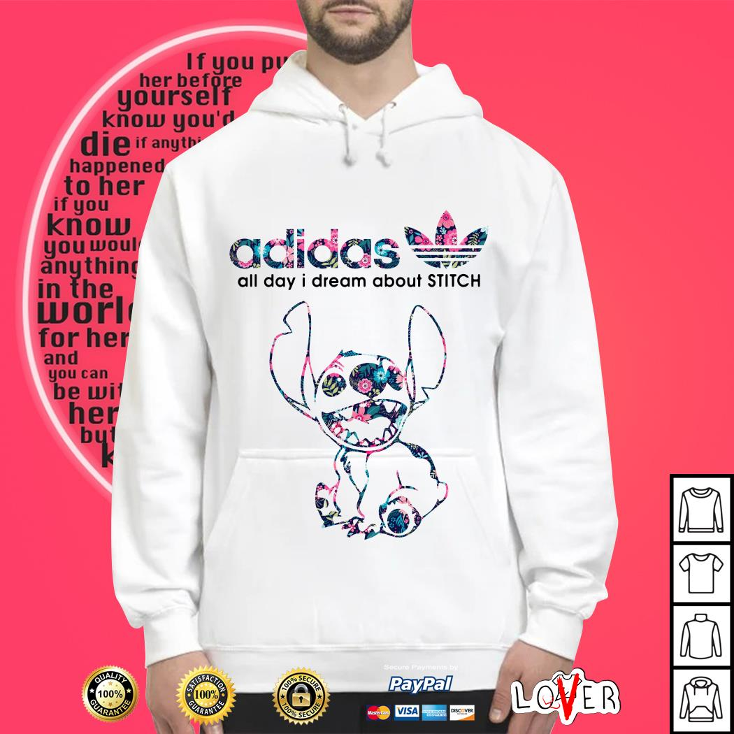 Adidas all day I dream about Stitch Hoodie