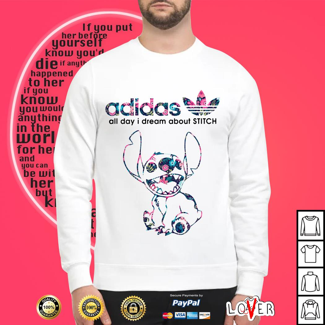 Adidas all day I dream about Stitch Sweater