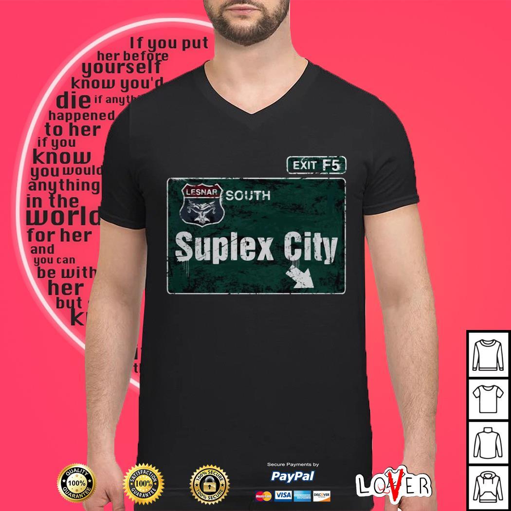 Brock Lesnar Suplex City shirt
