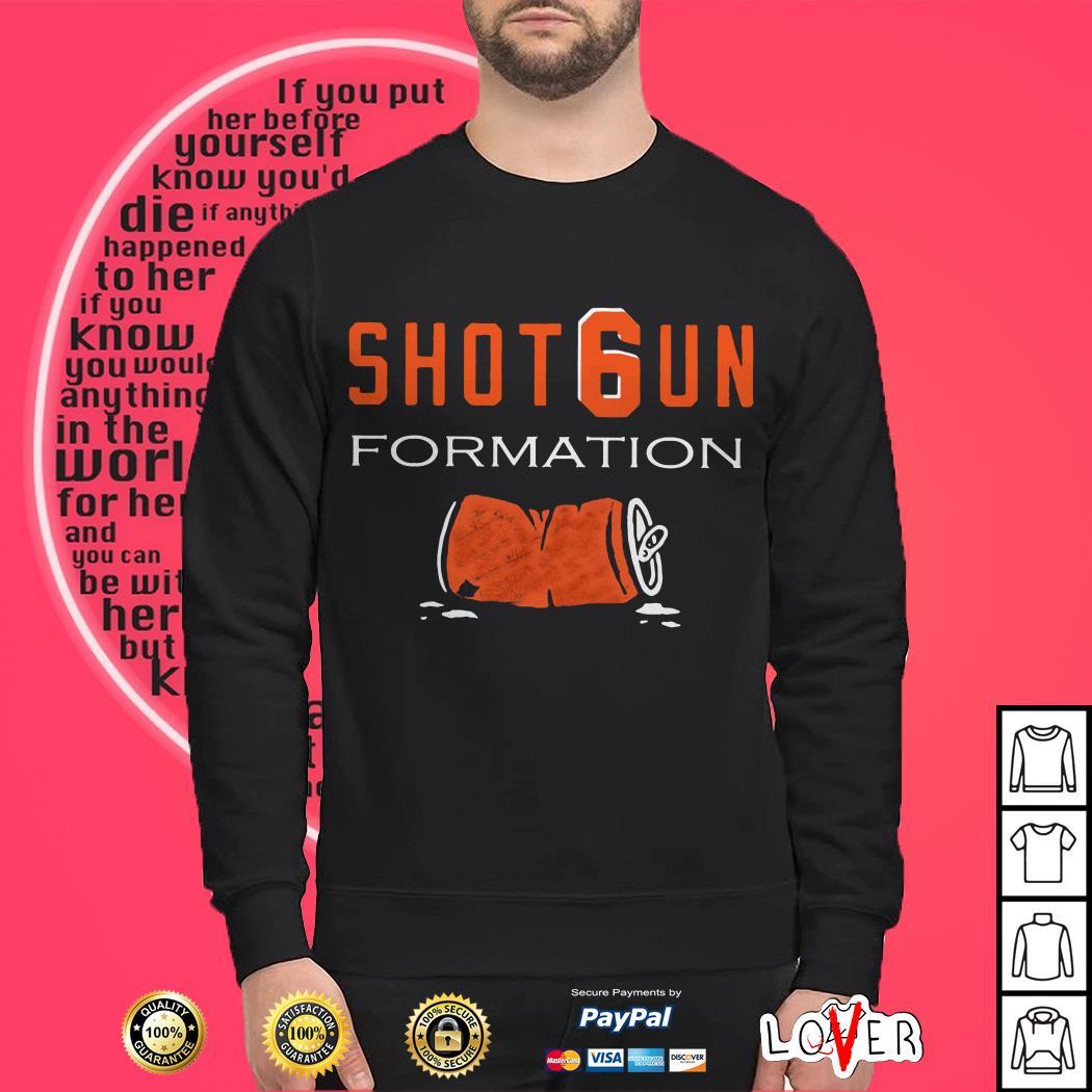 Cleveland Browns Shotgun formation Sweater