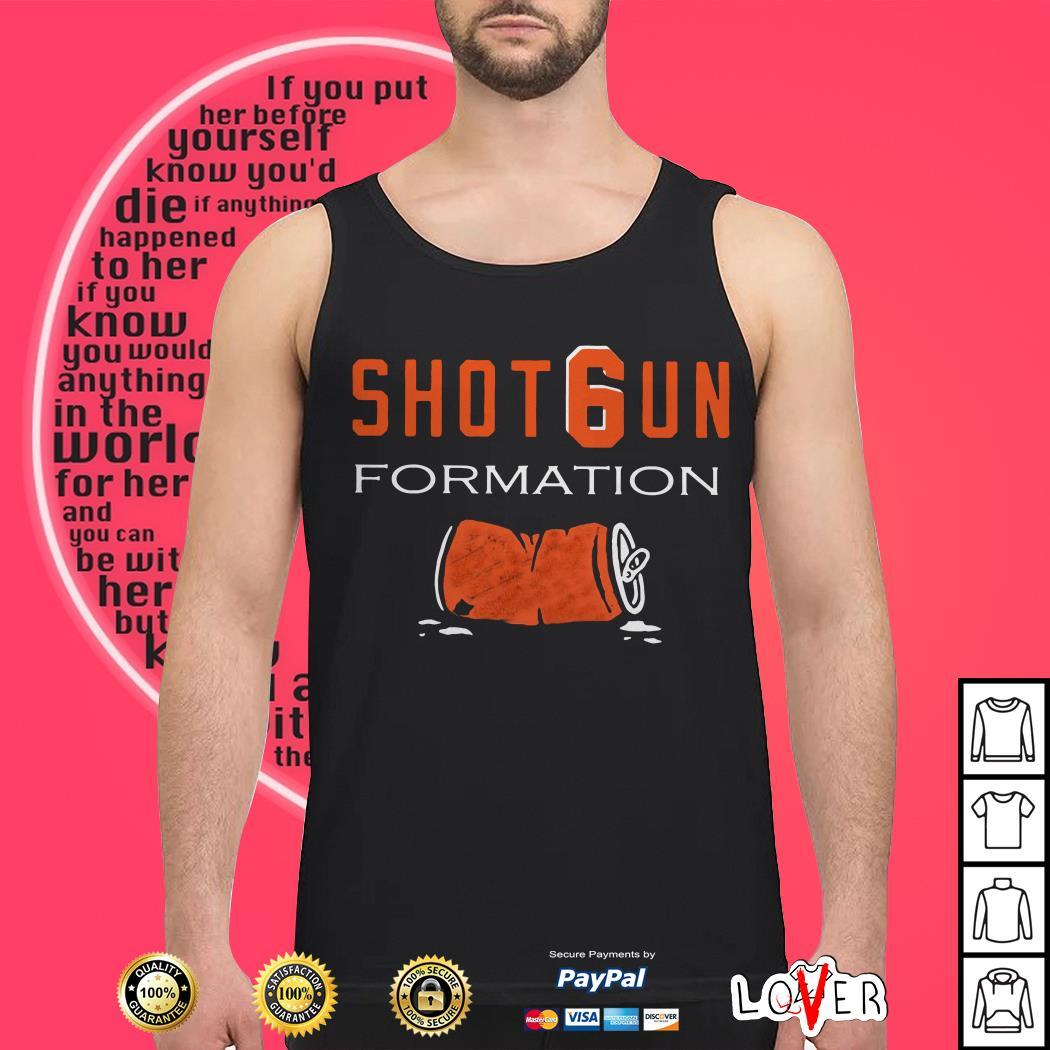 Cleveland Browns Shotgun formation Tank top
