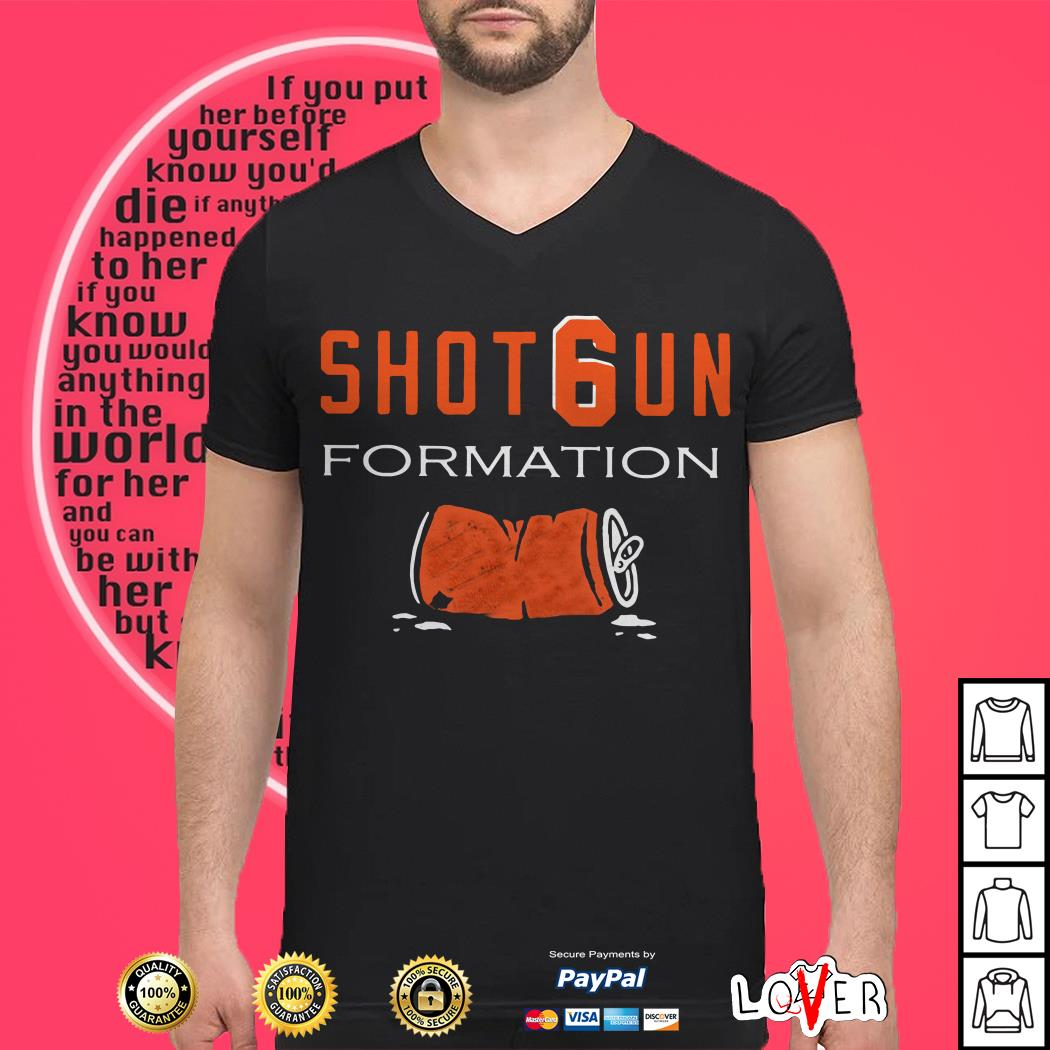 Cleveland Browns Shotgun formation shirt