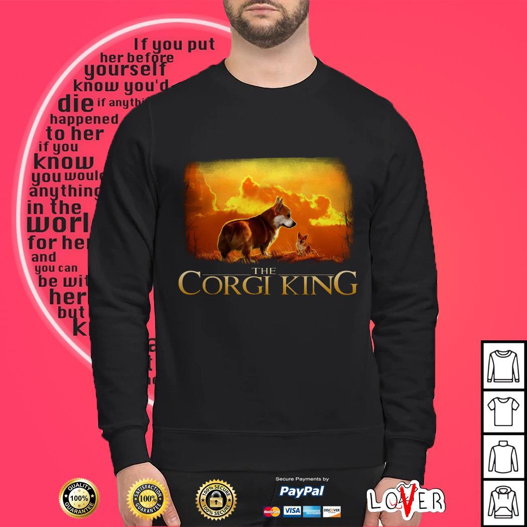 The Corgi King The Lion King Sweater