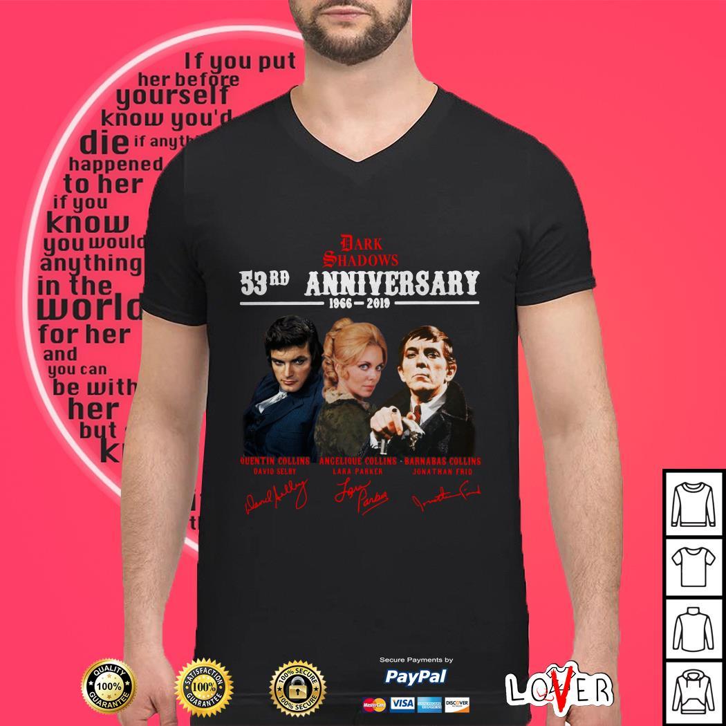 Dark Shadows 53rd anniversary 1966 2019 signature shirt