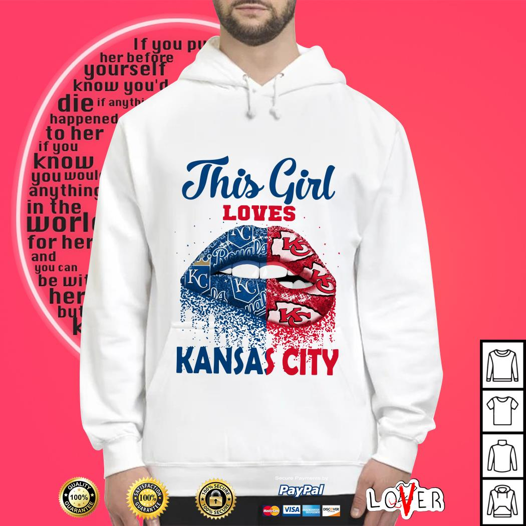 This Girl Loves Kansas City Hoodie