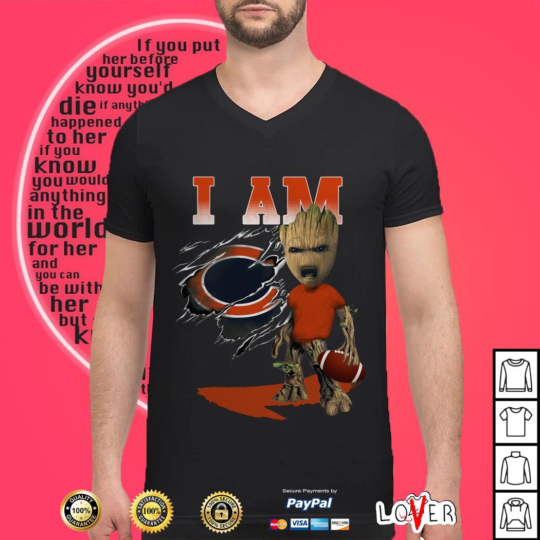 Groot I Am Chicago Bears shirt