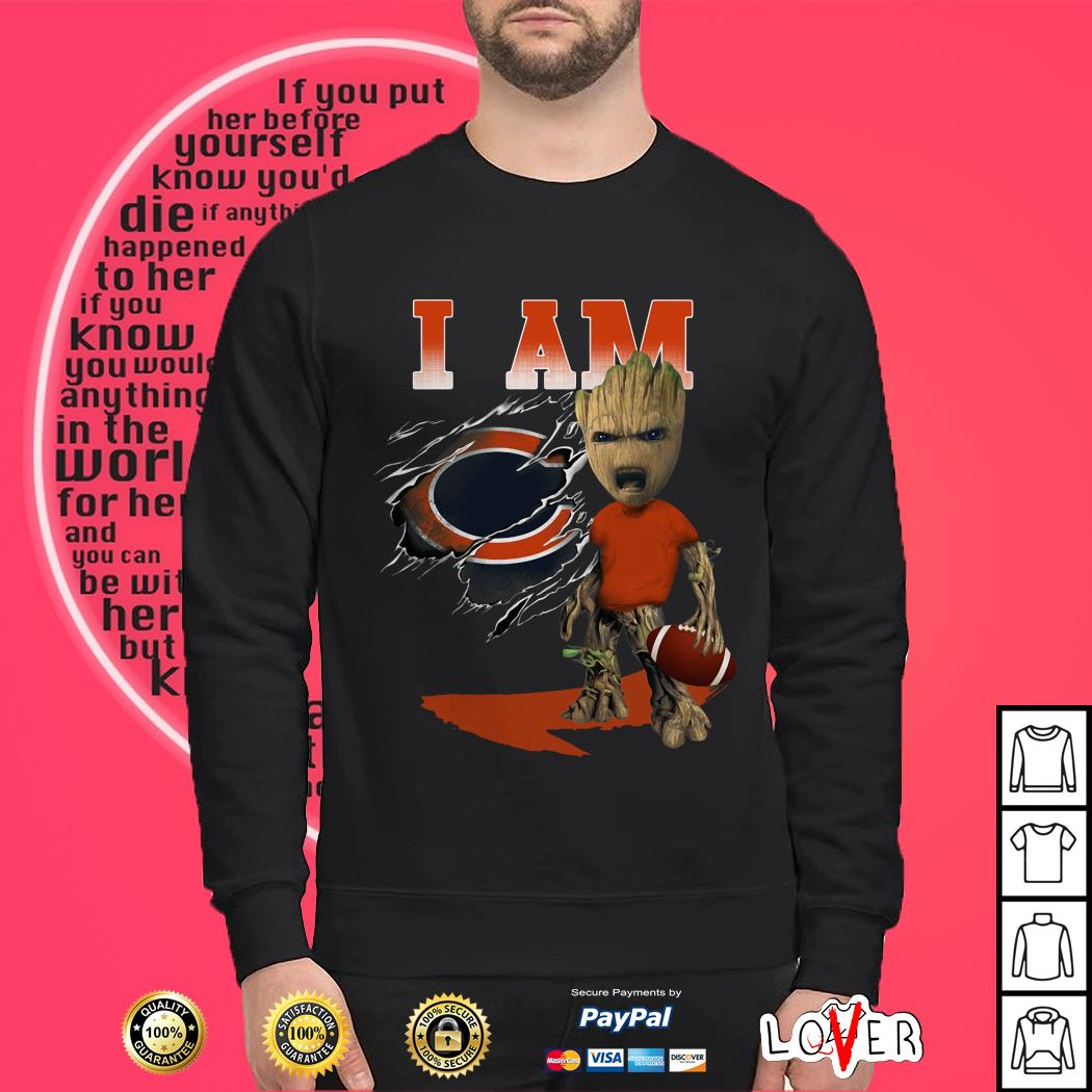 Groot I Am Chicago Bears Sweater