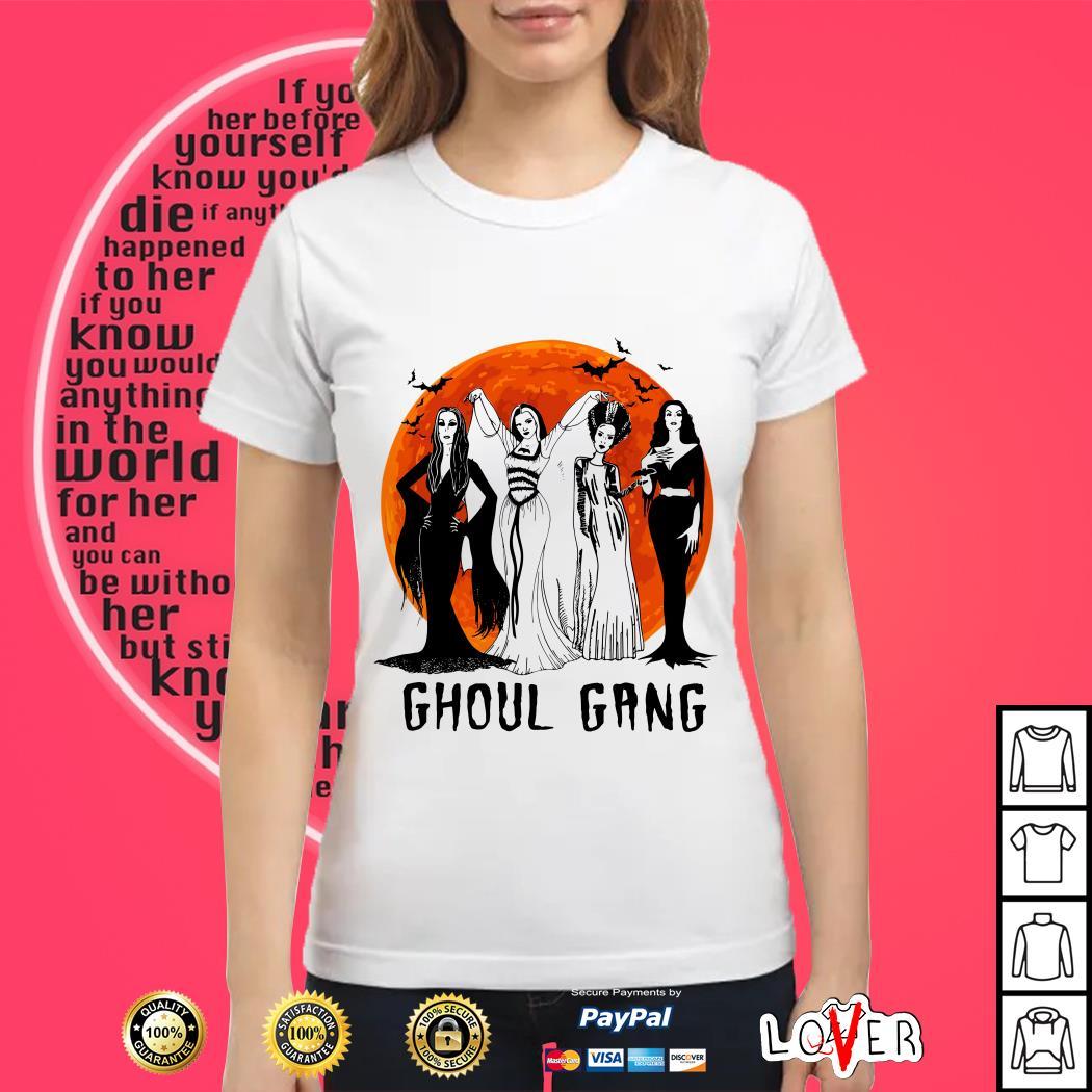 Halloween Ghoul Gang Ladies tee