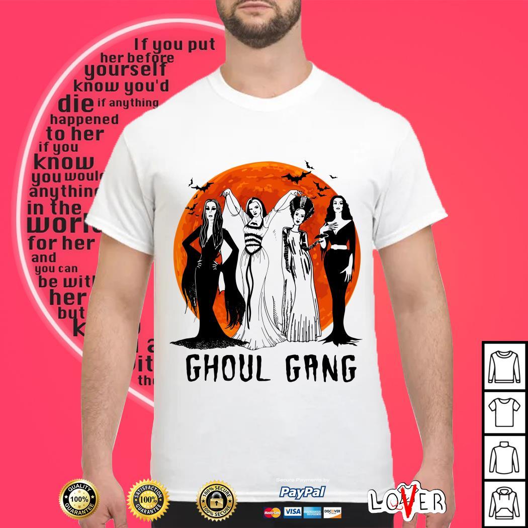 Halloween Ghoul Gang shirt