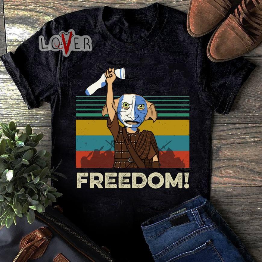 Harry Potter Dobby Freedom vintage shirt
