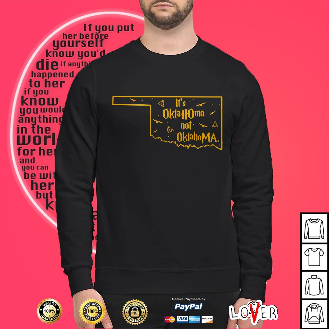 Harry Potter it's oklahoma not oklahoma Sweater