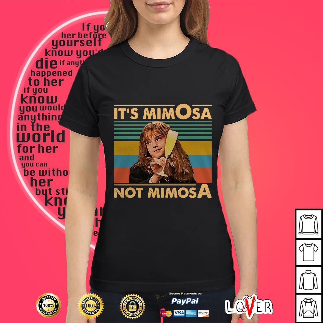 Hermione Granger it's mimosa not mimosa vintage Ladies tee