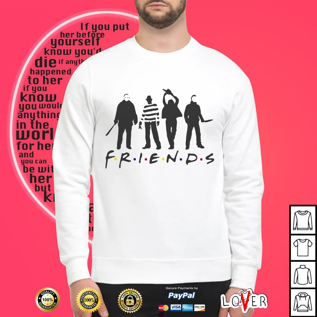 Horror movies friends TV show Sweater