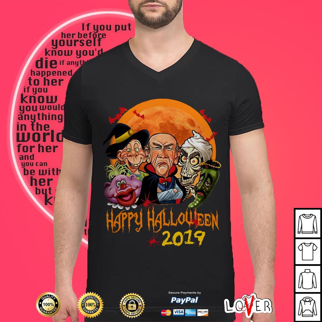 Jeff Dunham characters Happy halloween 2019 shirtJeff Dunham characters Happy halloween 2019 shirt