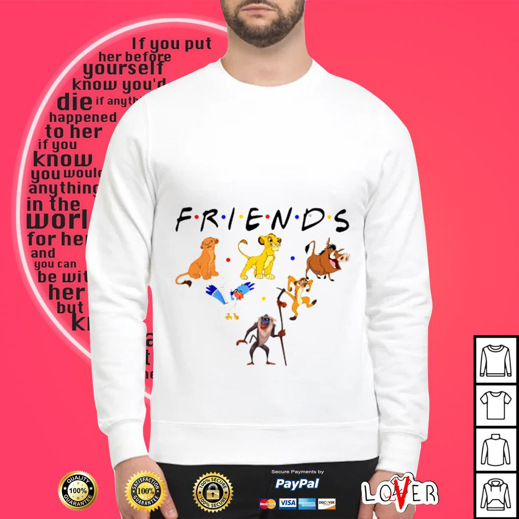 The Lion King friends Sweater
