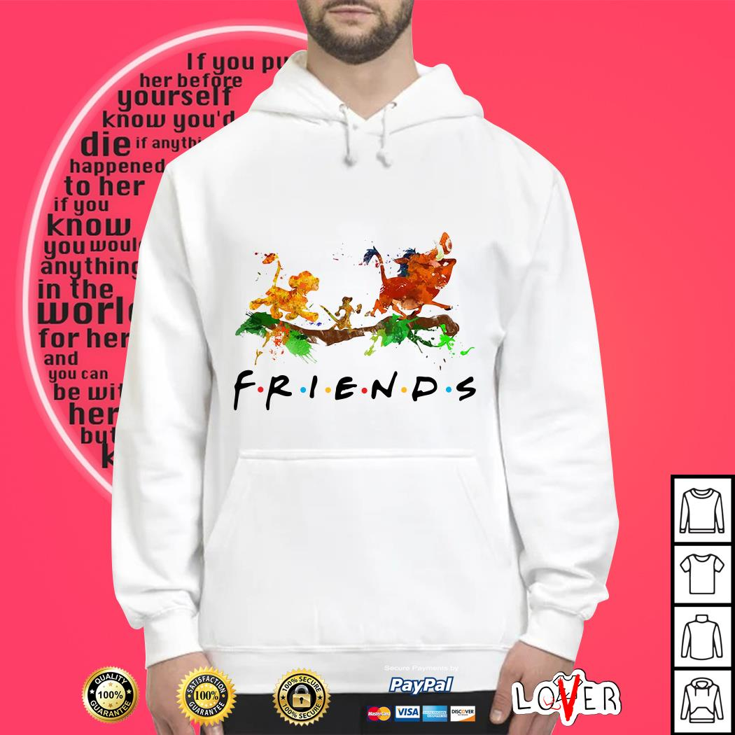 The Lion King Simba Timon Pumbaa friends Hoodie