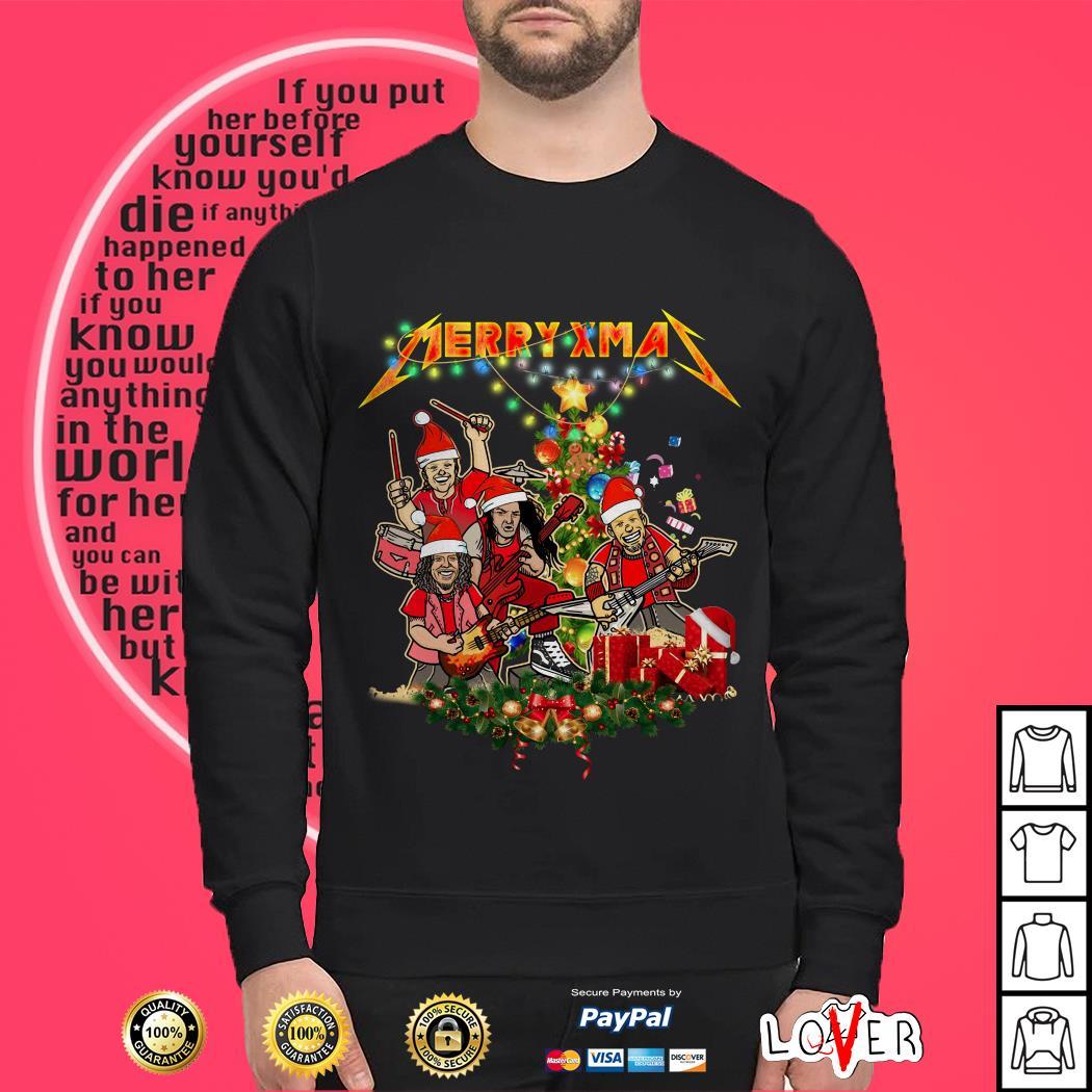 Metallica Merry Xmas Christmas Shirt
