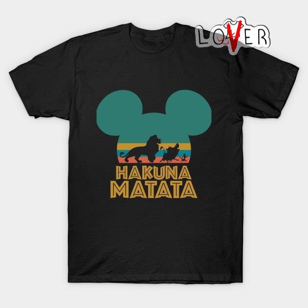 Mickey Disney Lion King Hakuna matata vintage shirt