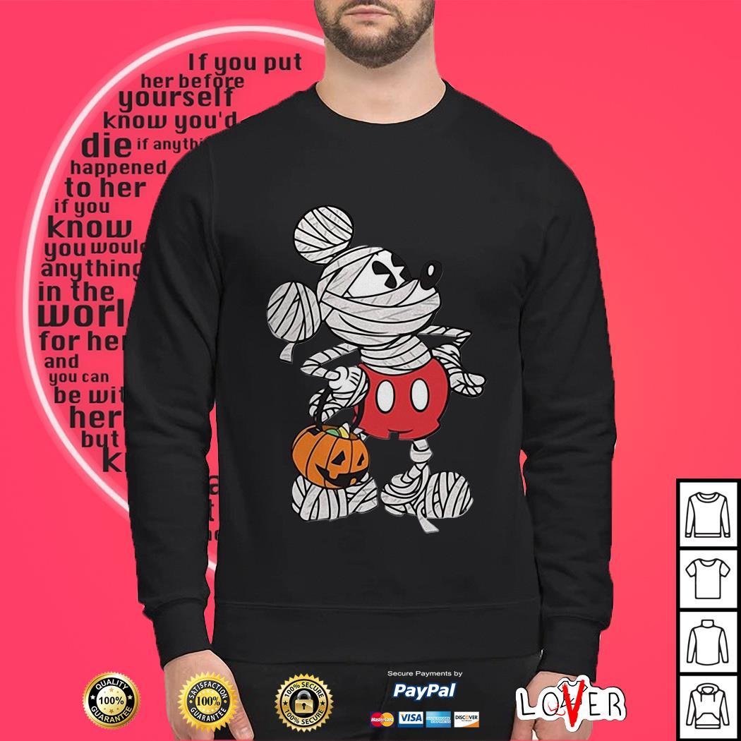 Mickey Mouse mummy Halloween Sweater