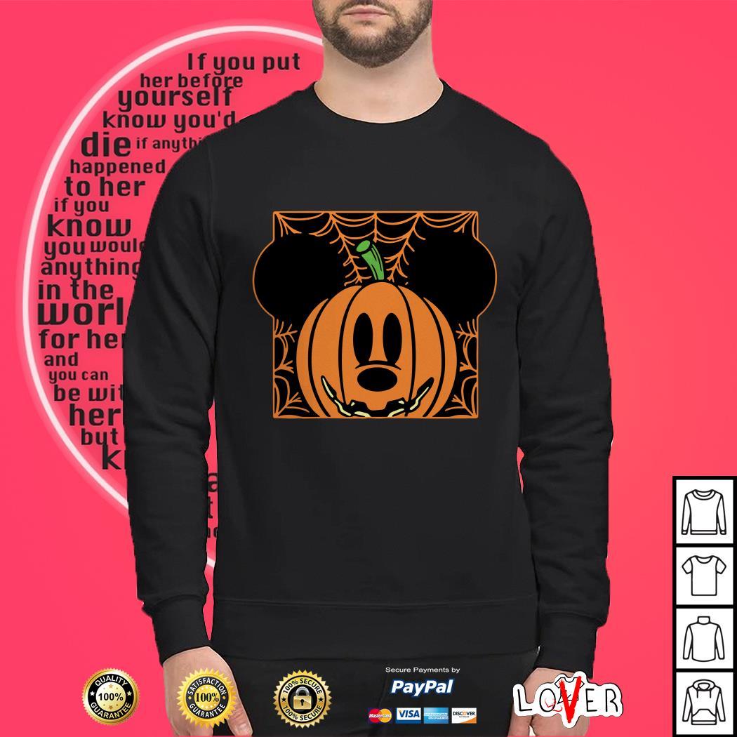 Mickey Mouse Pumpkin head Sweater