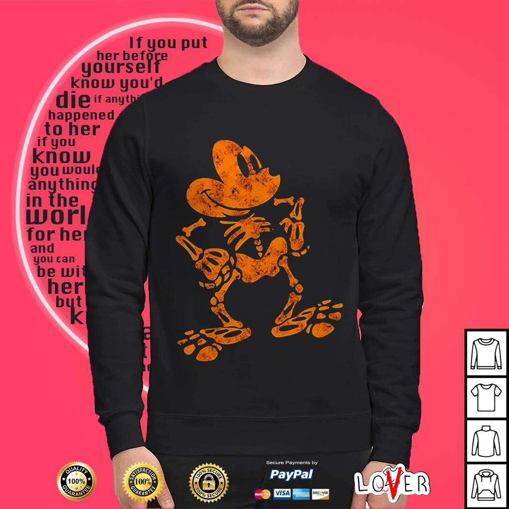 Mickey Mouse skull bone Sweater