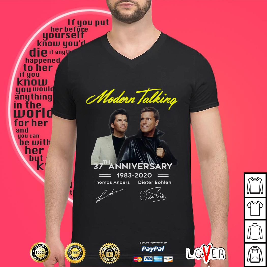 Modern talking 37th anniversary 1983 2020 shirt